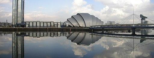SECC panorama Glasgow