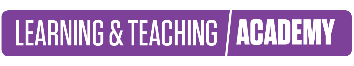 Learning and Teaching Academy Logo