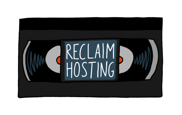 Lewis and Julian and Reclaim hosting Logo